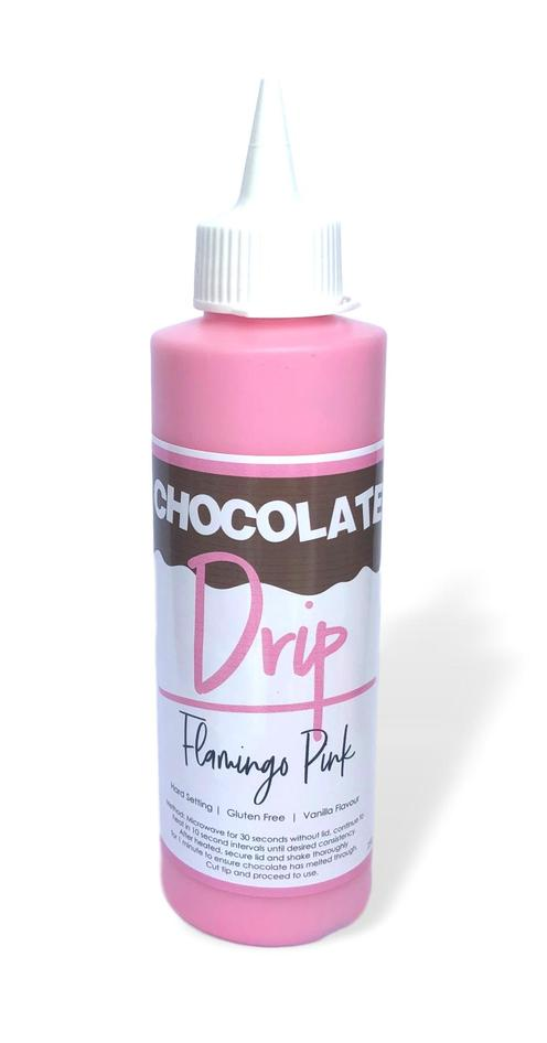 CHOCOLATE DRIP 250G FLAMINGO PINK
