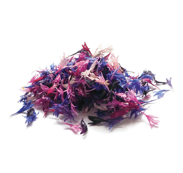Dried Organic Edible Mixed Cornflower