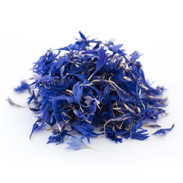 Dried Organic Edible Blue Cornflower