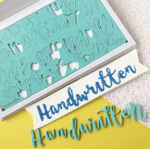 Handwritten, Upper & Lower Case