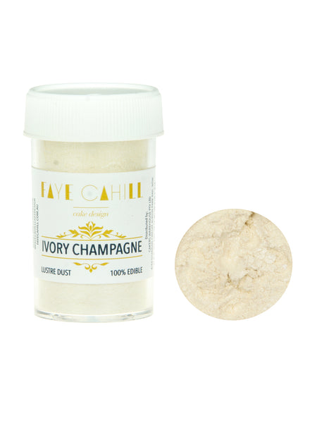 Faye Cahill Lustre Ivory Champagne