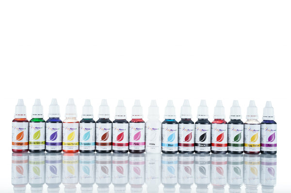 Myflavor Oil Based Colouring Set
