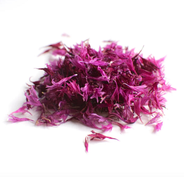 Dried Organic Edible Pink Cornflower