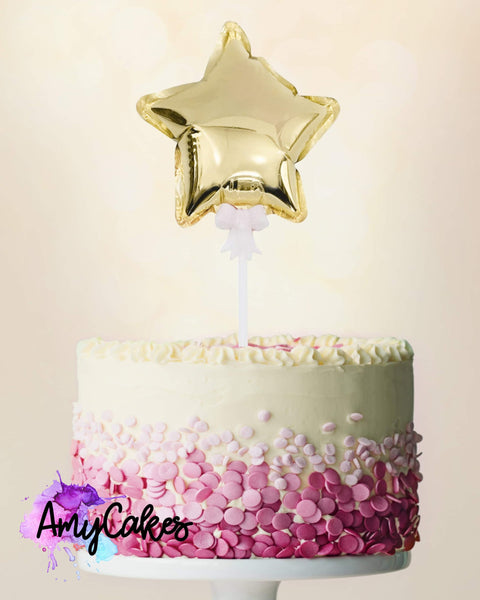 FOIL BALLOON - GOLD - STAR