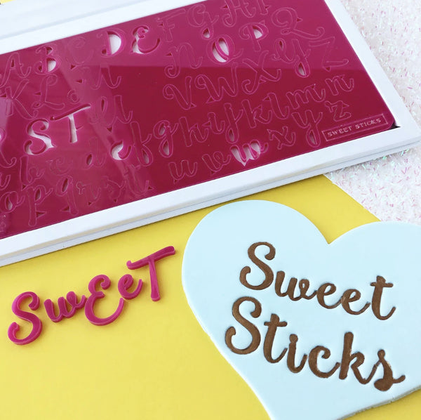 Sweet Sticks Edition, Upper & Lower Case