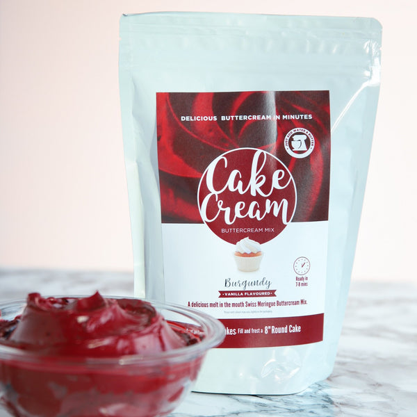 Cake Cream - Burgundy - Vanilla