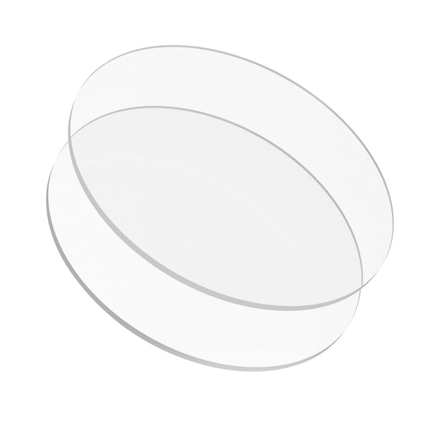 Lacupella Acrylic Disks For Cakes Round Set of 2