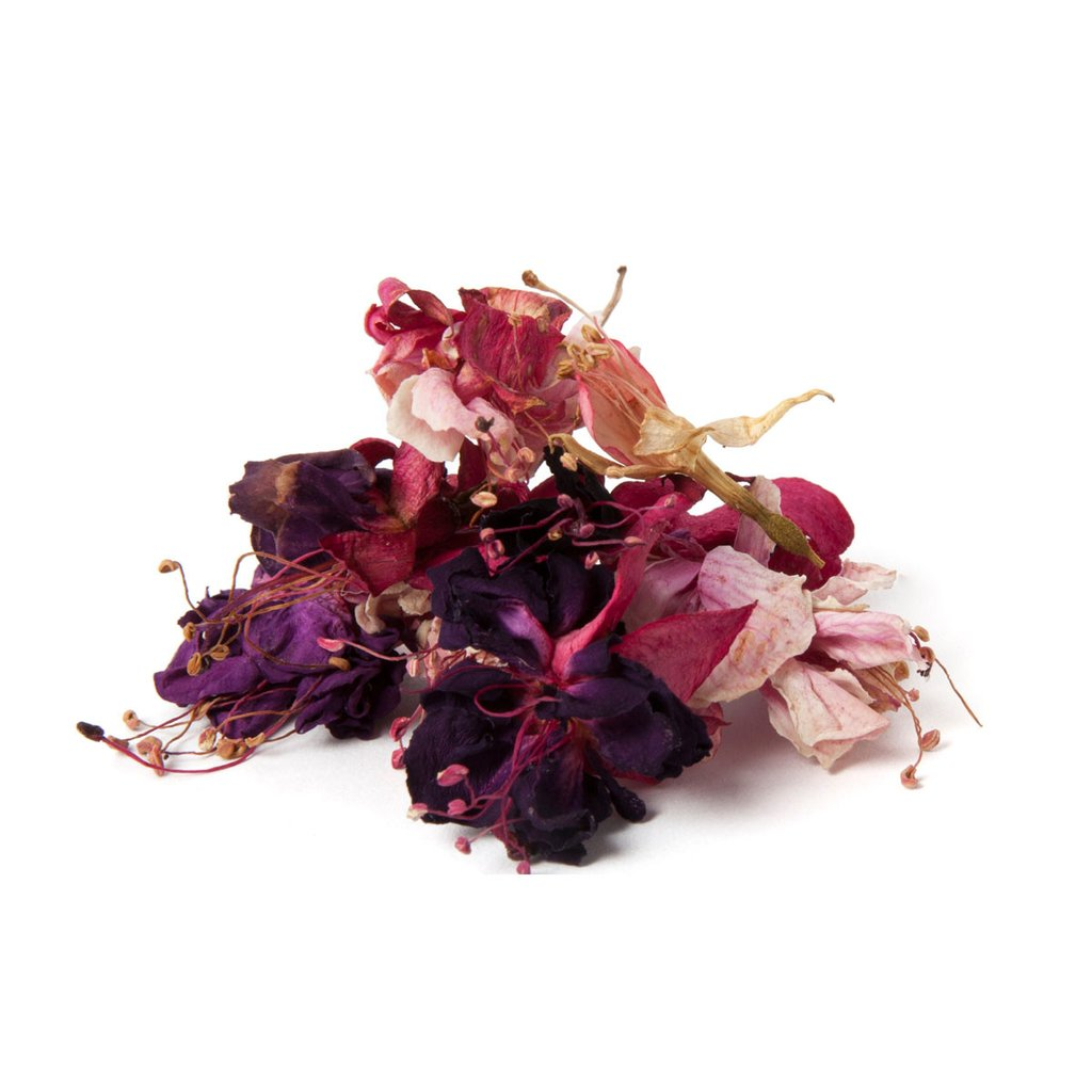 Dried Organic Edible Fuchsia