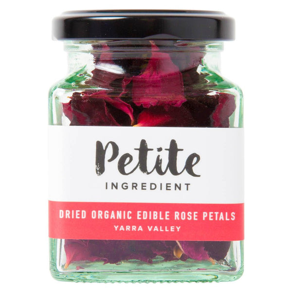 Dried Organic Edible Rose Petals (Red)