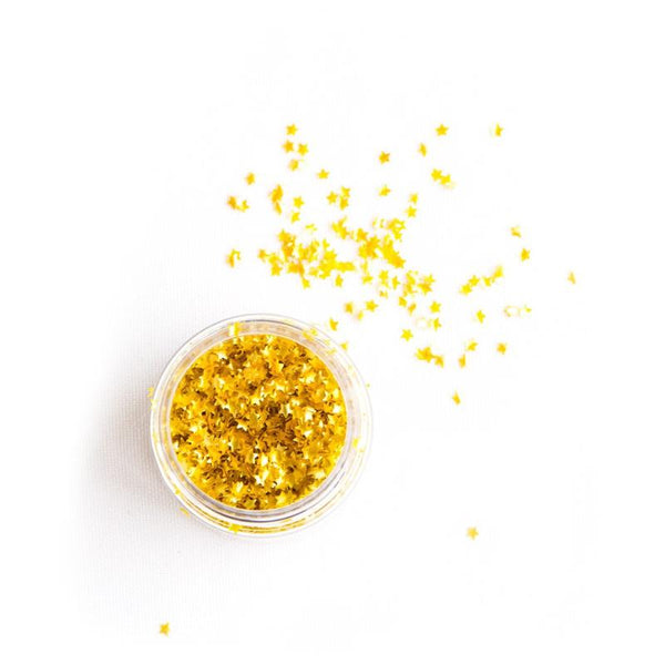Edible Gold Metallic Stars