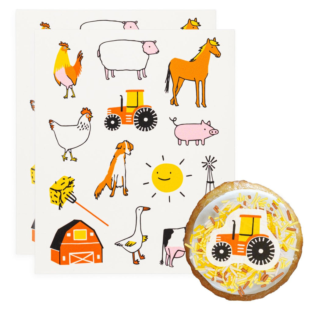 Farm Fun Edible Stickies®