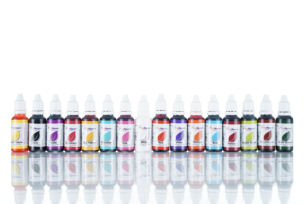 Myflavor Gel Based Colouring Set