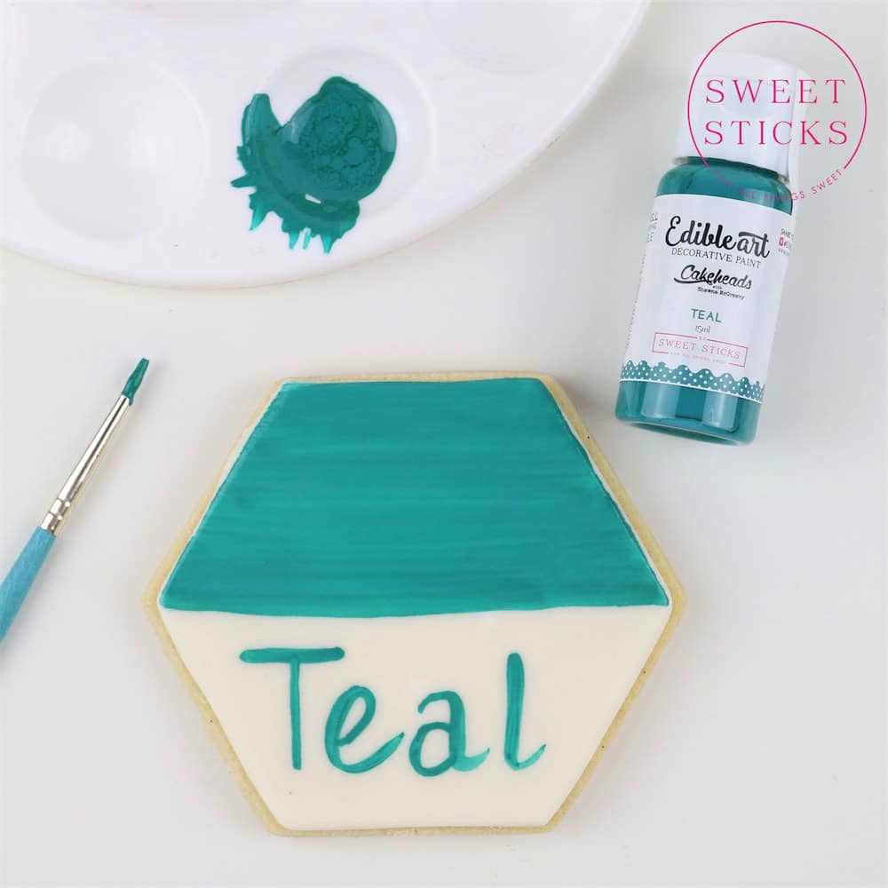 Edible Art Paint Teal