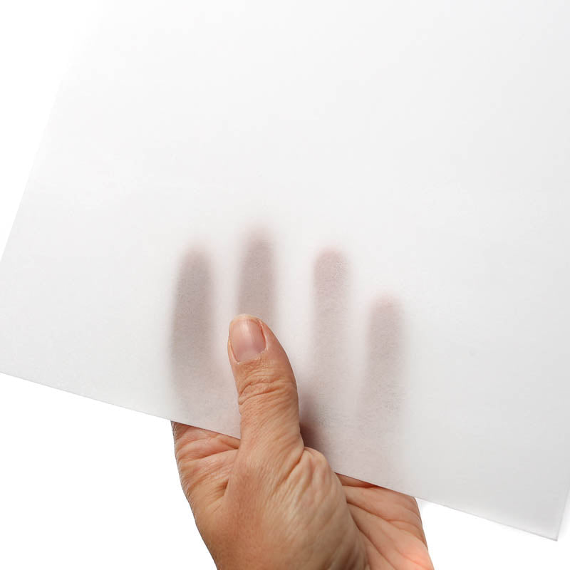 WHITE RECTANGLE WAFER PAPER (THIN)