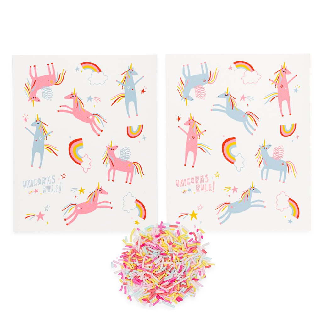 Unicorns Rule! Stickies®
