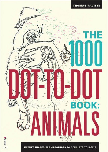 1000 dot-to-dot - Animals