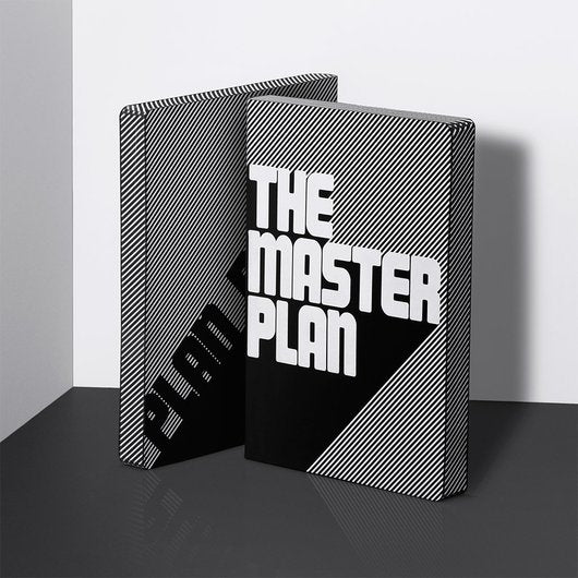 Notitieboek - Graphic L - The masterplan black/white