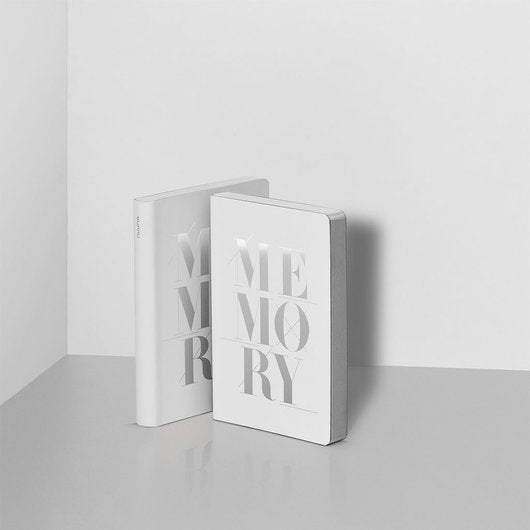 Notitieboek - Graphic S - Memory silver