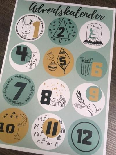Adventskalender Paper Ant Design