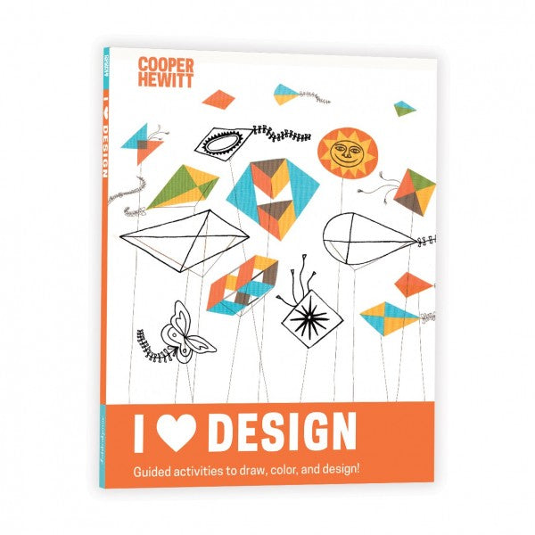 I Heart Design Activity Book