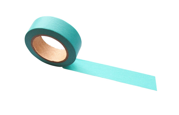 Masking tape 15mm - rooftop blue