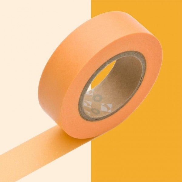 Masking tape 15mm - Mt Colors - Shocking Orange