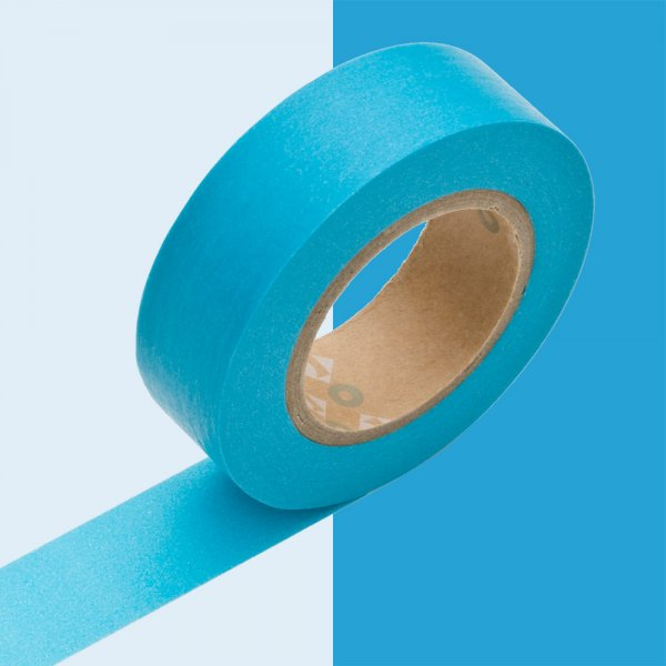 Masking tape 15mm - Mt Colors - Sora (fel blauw)