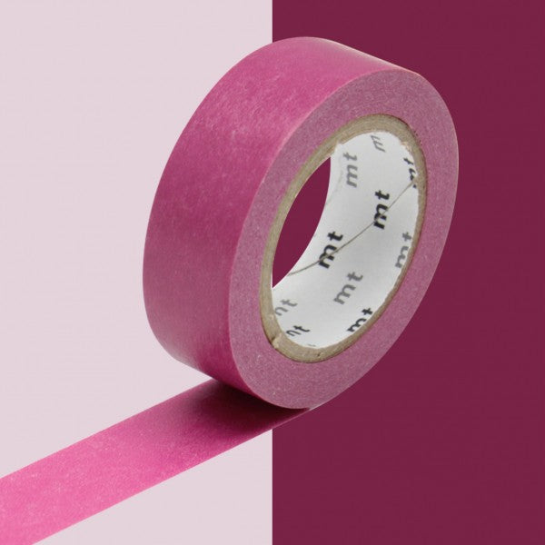 Masking tape 15mm - Mt Colors - Wine