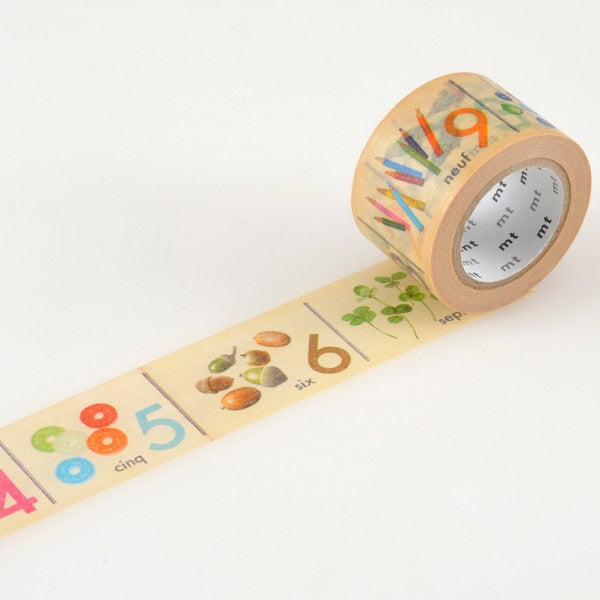 Masking tape 30mm - Mt Ex - Number