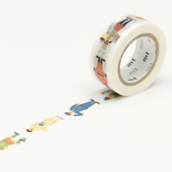 Masking tape 15mm - Mt Kids - Work (Human)