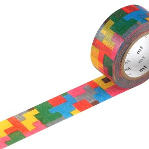 Masking tape 20mm - Mt Mina Perhonen - Puzzle