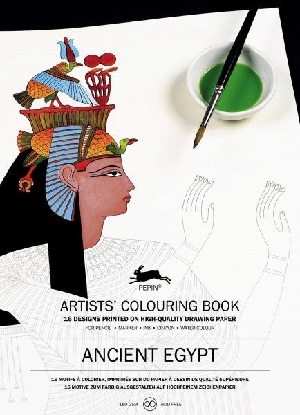 Artists' Colouring Books - Ancient Egypt