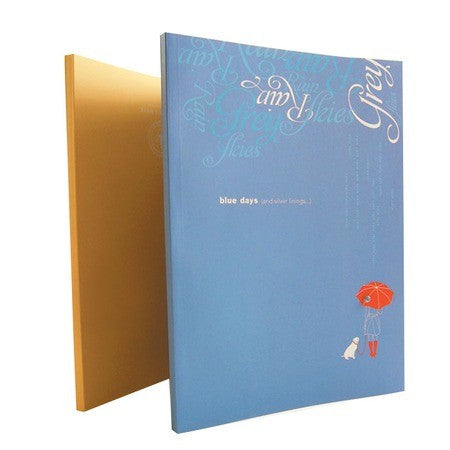 Notitieboek - Blue/Sunny days journal