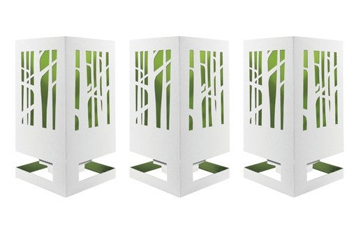 Decoratieve wenskaart - Cardle Home - Woodland Paradise Green