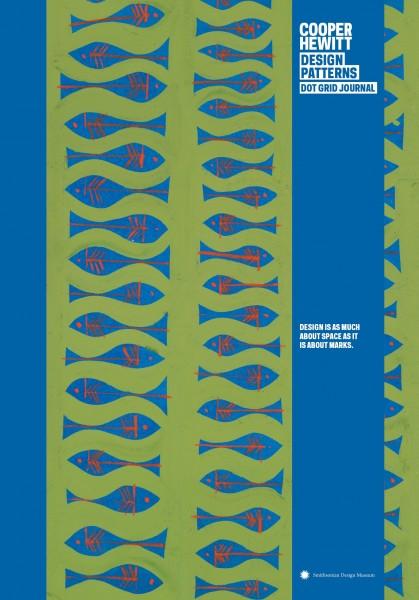 Notitieboek - Cooper Hewitt Fish Design Journal