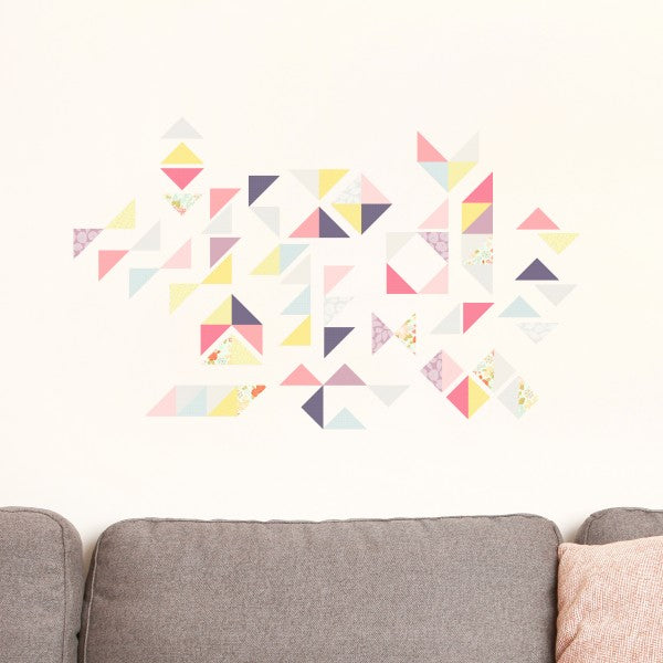 Geometric muurstickers