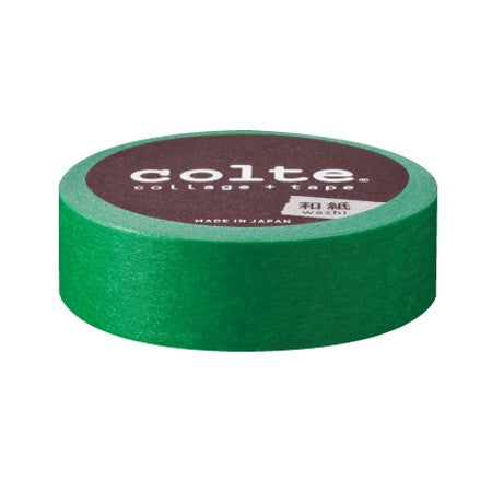 Masking tape 15 mm - Colte Colors - Green (CP13)