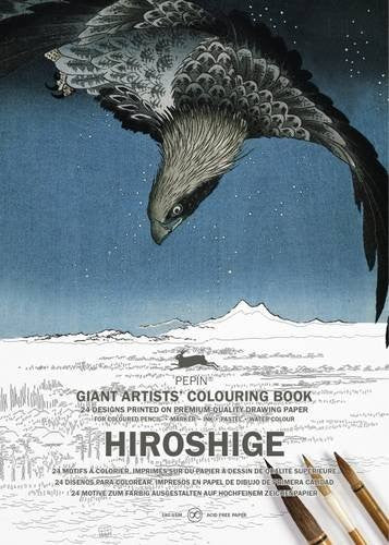 Giant Artists' Colouring Book - Hiroshige