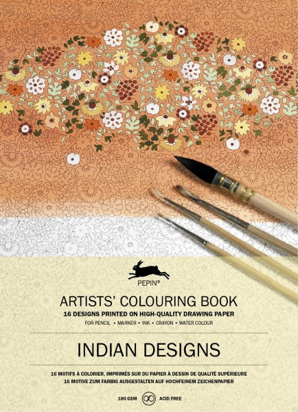Artists' Colourting Books - Indian Designs