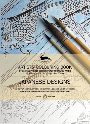 Artists' Colouring Books - Japanese Designs