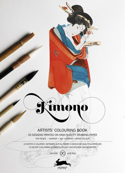 Artists' Colouring Books - Kimono