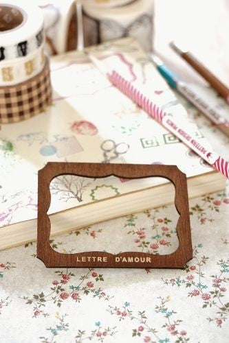 Label template - Lettre d'amour