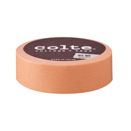 Masking tape 15mm - Colte Colors - Light Orange (CP29)