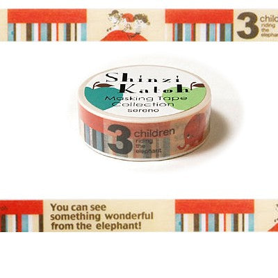 Masking tape 15mm - 3 Children