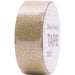 Masking tape 15mm - Paper Poetry - glitter tape goud