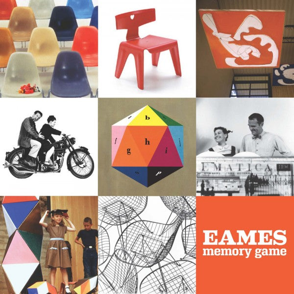 Charles & Ray Eames memory game