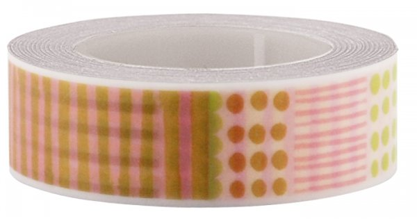 Masking tape 15mm - My Memo - Fun tape patchwork 2