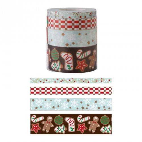 Masking tape - My Memo - Kersttape sweets - set van 4