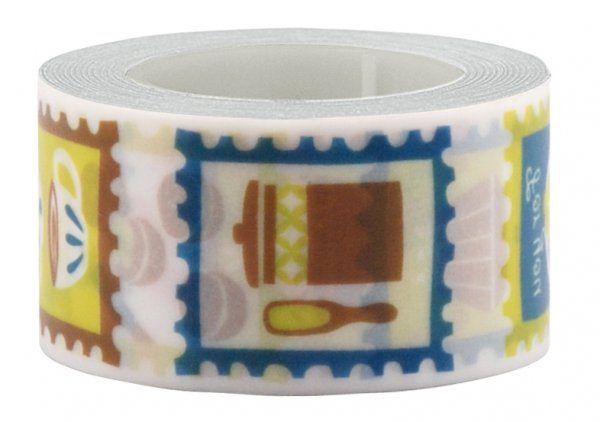 Masking tape 25mm - My Memo - Postzegeltape Tea Time