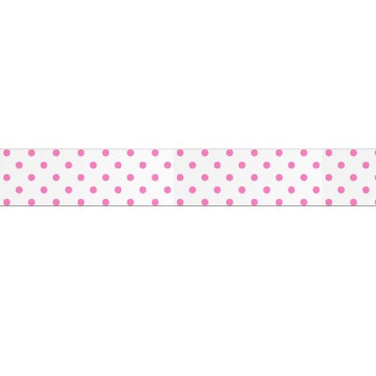 Masking tape 15mm - My Memo - Wit met neonroze stipjes